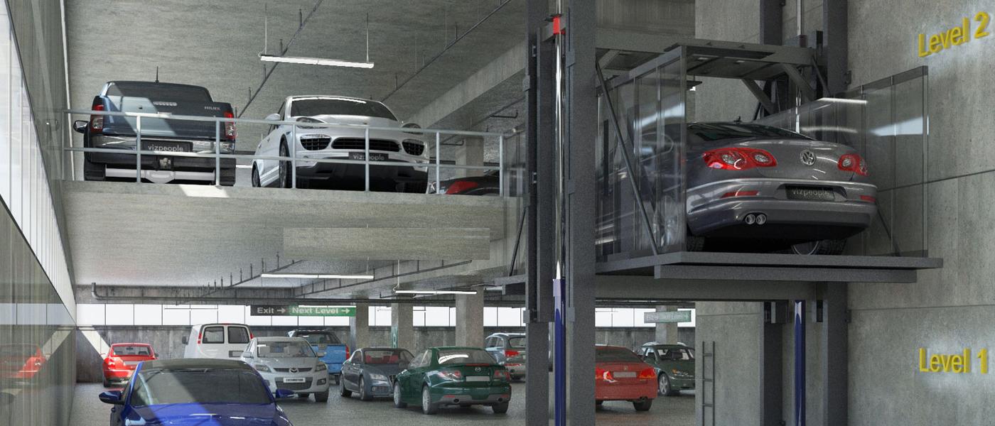 CAR ELEVATOR 1 1400 600